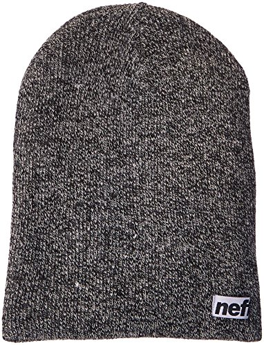 Neff Beanie Unisex Gorros gris Optic white Adulto black Heather rvx4ra