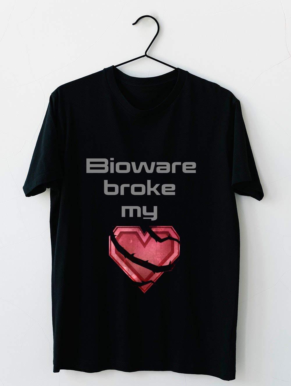 Bioware Broke My Heart 40 T Shirt For Unisex
