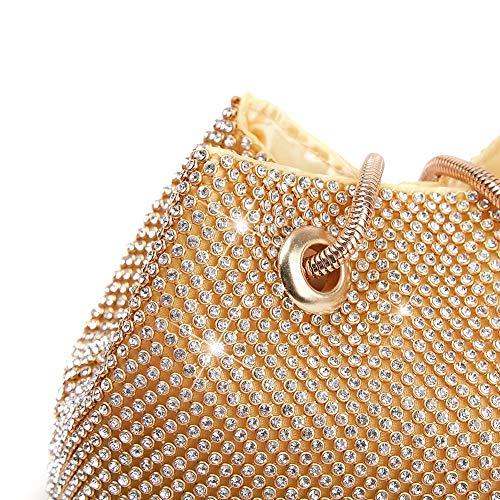 Qzny Un Prom Da 11cm Secchiello Borsa Nuziale Sera Abito Dimensione colore Donna Fazzoletto Sposa 15 16 Di Diamanti Festa C rr7q5HwBx