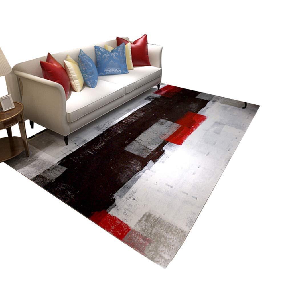 現代の敷物、デザイナーカーペット北欧スタイルのコーヒーテーブルソファ敷物用リビングルーム寝室オフィスコーヒーテーブルコンピュータチェアベッドカーペットタイル、(サイズ:200×300cm) AI LI WEI (サイズ さいず : 160×230cm) B07R5DJ851  160×230cm