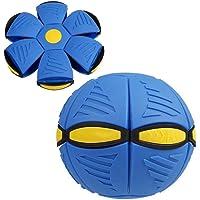 becoler Flying Saucer Ball novedad Flying UFO Flat Throw Disco Ball Juguete
