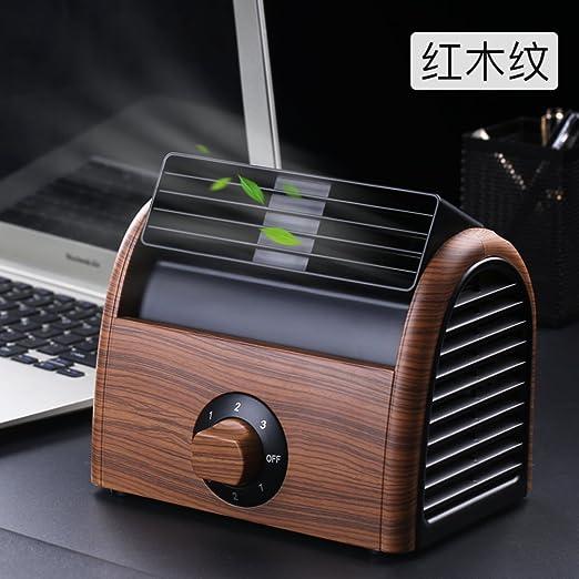 SL&LFJ Ventilador de Escritorio pequeño,Negro Dormitorio Aire Acondicionado deshumidificador portátil Tranquila sin aspas de Ventilador de enfriamiento-G: Amazon.es: Hogar