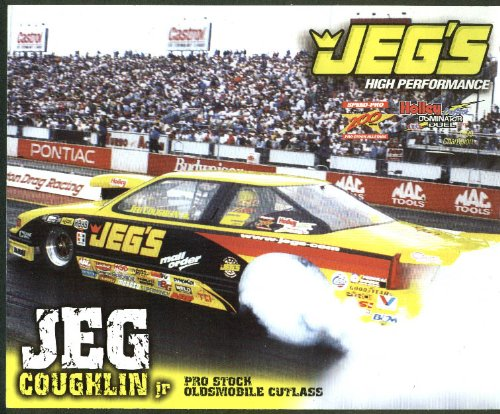 Jeg Coughlin Jr Pro Stock Oldsmobile Cutlass NHRA print 2000 (Cutlass Stock)