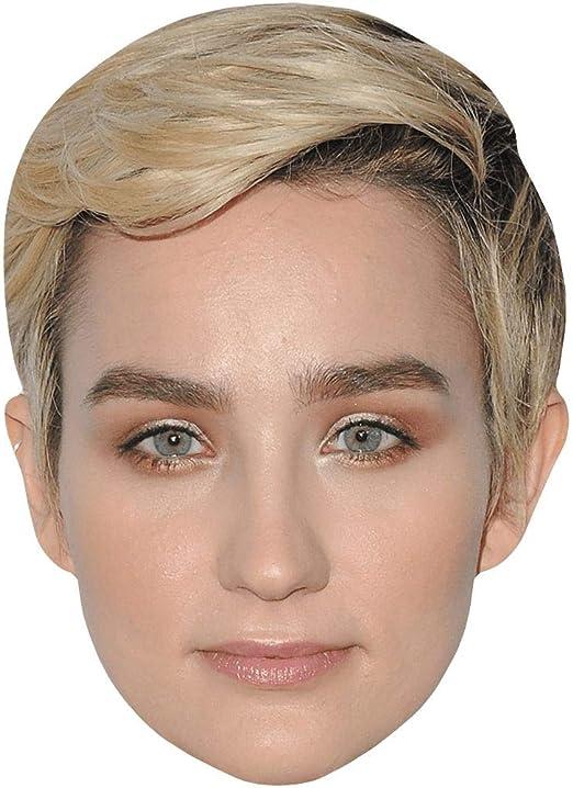 Celebrity Mask Bex Taylor-Klaus Card Face Blond