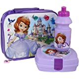 Sofia the First 3-Piece Lunch Set