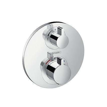 Hansgrohe 15757000 Ecostat S termostato empotrado, cromo, 1 salida
