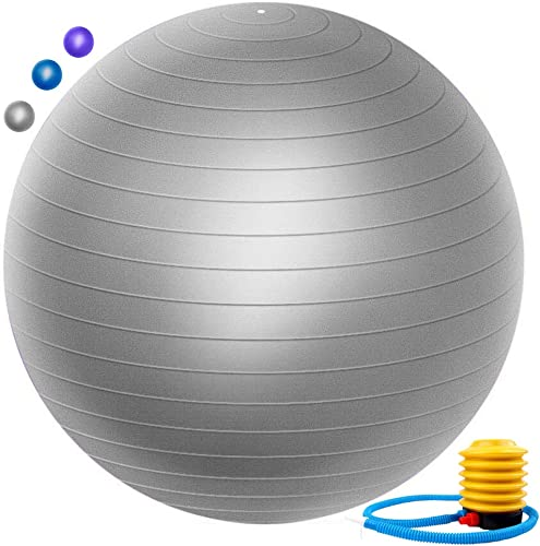 Zonstore Exercise Ball Extra Thick Yoga Ball Chair