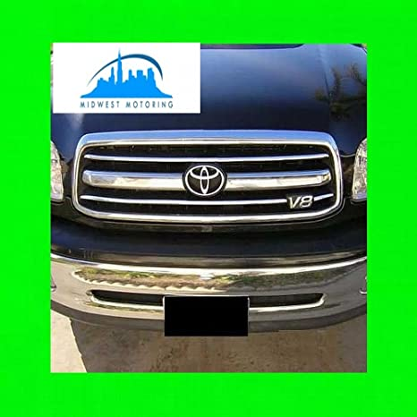 312 Motoring fits 2000-2002 TOYOTA TUNDRA CHROME TRIM FOR GRILL GRILLE 2001  00 01 02