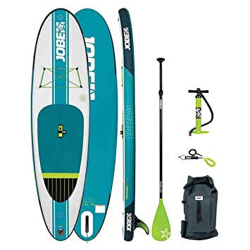 Jobe 2018 Aero Yarra Inflatable Stand Up Paddle Board 106 x 32 INC Paddle