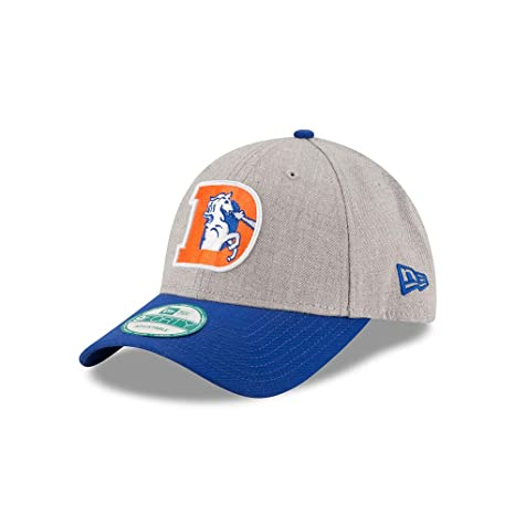 Image Unavailable. Image not available for. Color  New Era Denver Broncos  Classic The League Heathered Grey 9FORTY Adjustable Hat Cap d40cb03e9956