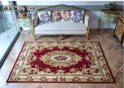 DIAIDI Area Rugs Tea Table Mat Living Room Floor Mats Modern Oriental Area  Rug Washable Soft Part 3