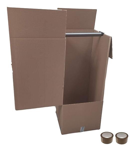 Imballaggi2000 - Kit de 5 cajas de cartón con perchero ...