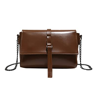 ❤️ sacs à bandoulière,Femmes fille à la mode Rose imprimé à rabat sac faux cuir sac à bandoulière jolie bandoulière by LHWY