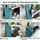 Remiawy Tree Watering Bag, 20 Gallon Slow Release