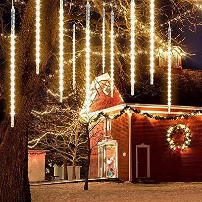 STARSHINE 50cm 10 Tube 540 LEDs Meteor Shower Rain Lights Waterproof String for Wedding Party Christmas Xmas Decoration Tree