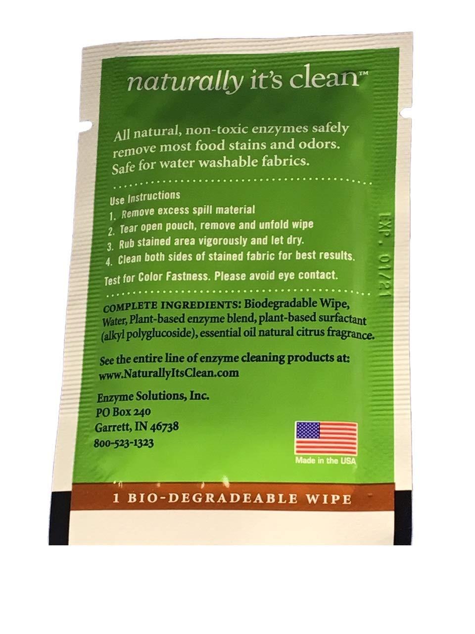 Naturally Its Clean 60 paquete de mancha goma de borrar ...