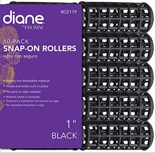 Diane Black Snap On Rollers - 1