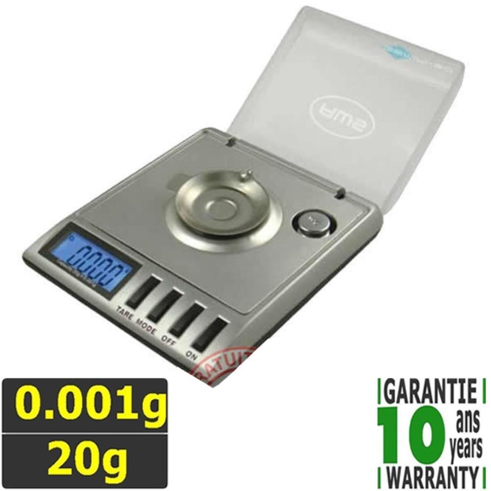 Báscula de bolsillo precisión 0.001 g Capacidad 20 G evo-milli2: Amazon.es: Industria, empresas y ciencia