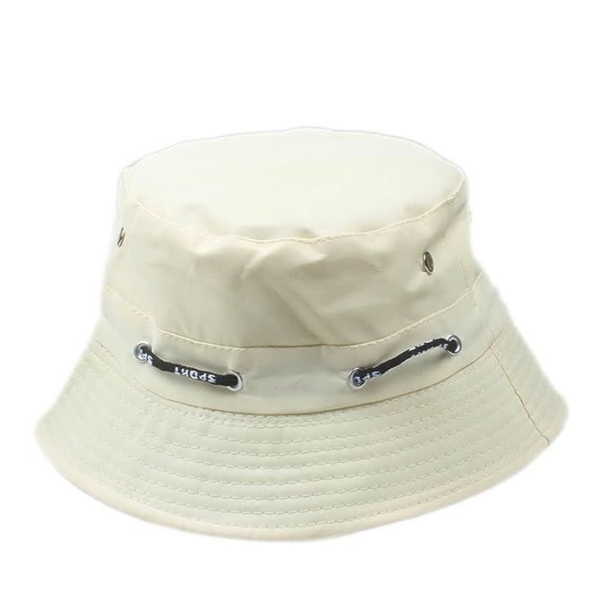 4753b5c9e25 Image Unavailable. Image not available for. Color  Bucket Hat for Men  Panama Women Fishing Sun Hat Anti-UV Sun Block Visor