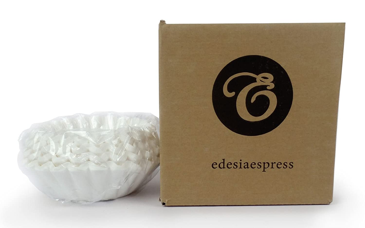 200 x 1¾ Pint/4 to 10 Cup Basket Coffee Filter Papers by EDESIA ESPRESS