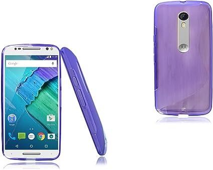 Motorola Moto X estilo delgado de silicona teléfono nuevo funda ...