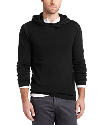 edc by Esprit Pull Over À Capuche Manches Longues Homme