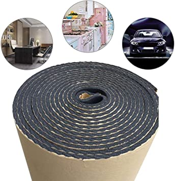 Car Sound Proofing Deadening Insulation Closed Cell Foam Noise 1Roll 200*50cm UK