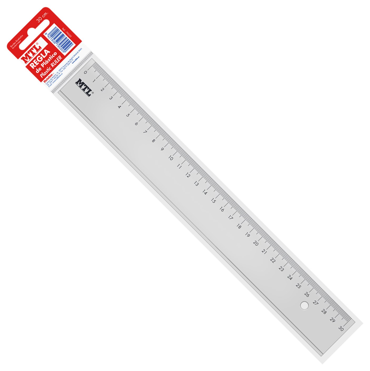 Regla 30 cm MTL 79550
