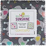 Cherry Guidry My Little Sunshine 5X5 Pack 42 5-inch Squares Charm Pack Benartex