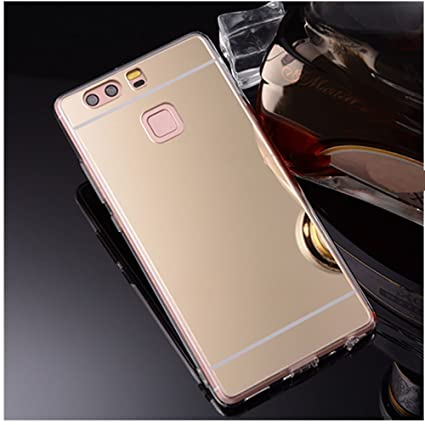 half off ea1cf b008d Amazon.com: Huawei P10 Mirror Case,Soft Selfie Cover for Huawei P10 ...