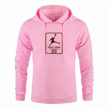 Mens Hoodies Fashion line Casual Cover Head Hoodie Men Hip-hop Sweatshirt Pink