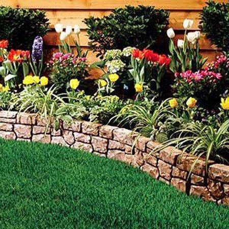 amazon com dalen gardeneer stonewall border tan 10 ft