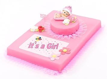 Torten Deko Set Babyparty It S A Girl 9 Teilig Tortendeko