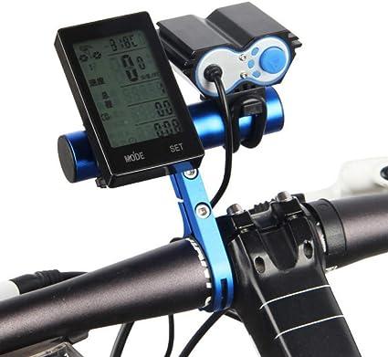 Manillar de bicicleta Soporte extendido Aleación de aluminio ...