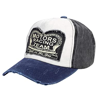 Gorra de béisbol de algodón vintage unisex Hombres Mujeres Gorra ...