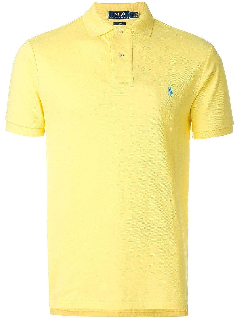 Ralph Lauren - Polo - para Hombre Amarillo X-Large: Amazon.es ...