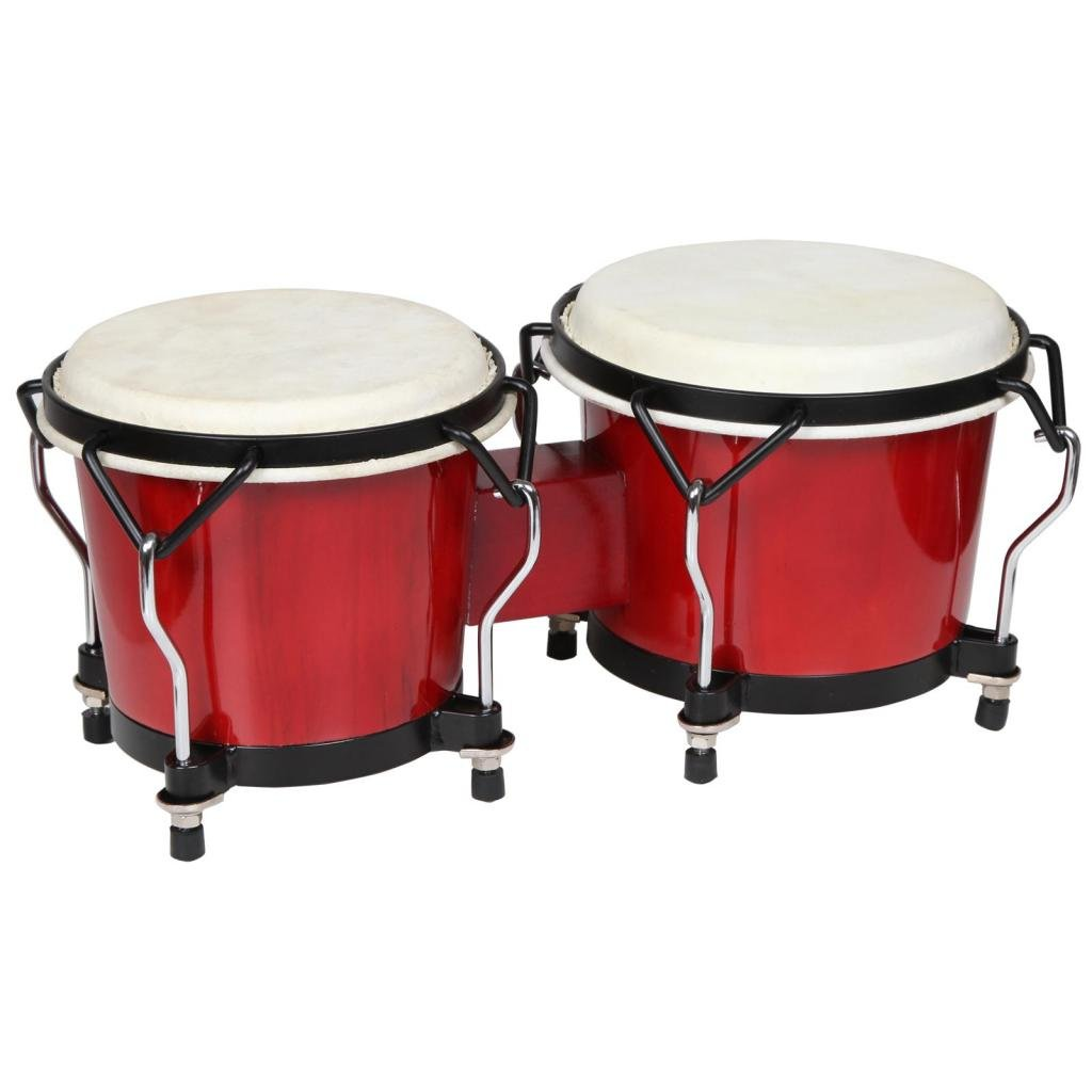 X8 Drums & Percussion X8-BNG-ENDV-RD Endeavor Series Bongos, Red