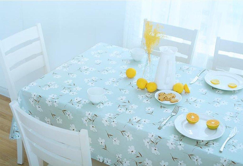 GBBD Tischdecken Europäische Tuch Baumwollleinentischdecke wasserdicht und Öl - Free Anti - Verbrühung Tischdecke rechteckiger Couchtischdecke Tischtuch (größe   11 ) B0794YYCM2 Tischdecken Angemessene Lieferung und pünktliche Li