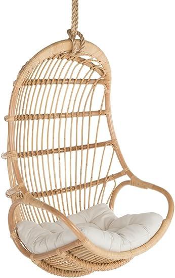 Amazon Com Kouboo Hanging Swing Chair Large Natural Furniture Decor