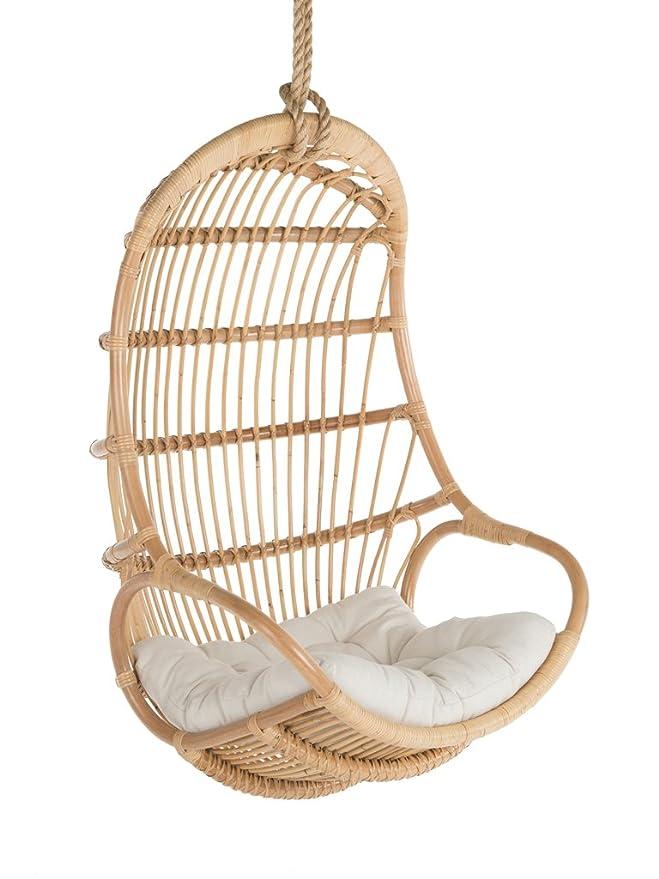 Kouboo Hanging Swing Chair, Large, Natural