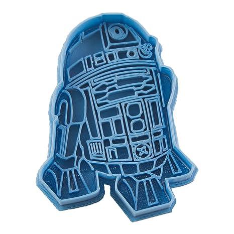 Cuticuter Star Wars R2D2 Cortador de Galletas, Azul, 8x7x1.5 cm