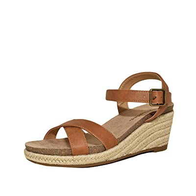 Sidecca City Classified Catalog Women's Strappy Espadrille Wedge Sandal | Platforms & Wedges