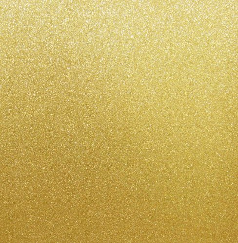 Best Creation 12-Inch by 12-Inch Glitter Cardstock, Gold