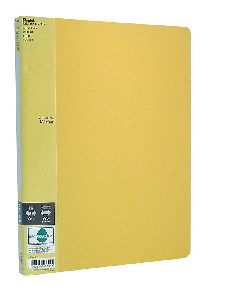 Pentel DCF644 portalistini Display Book Side 40 buste verde DCF644D
