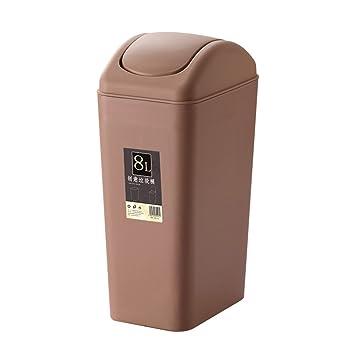 Amazoncom Topgalaxyz Bathroom Trash Can With Lid Small Garbage