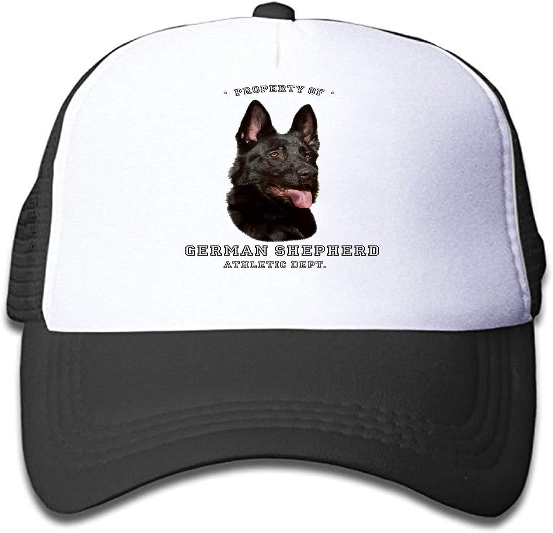 TCJX Mesh Baseball Cap Girl German Shepherd Dog Classic Adjustable