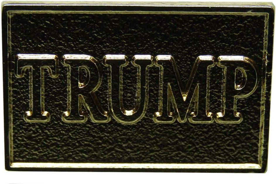 TRUMP GOLD COLOR LAPEL PIN