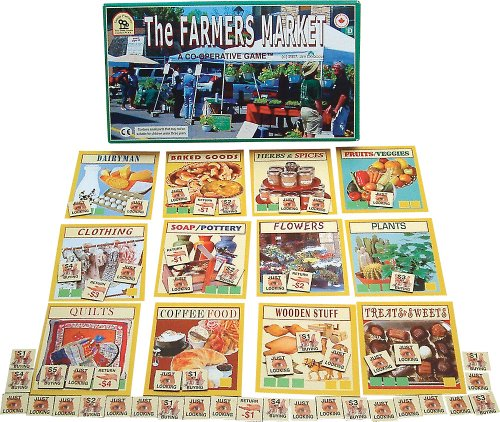 Family Pastimes The Farmers Market - A Co-operative Game (Farm Family Play)