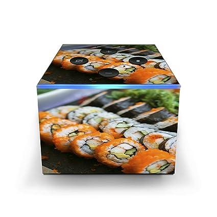 Amazon com: Skin Decal Vinyl Wrap for Amazon Fire TV Cube