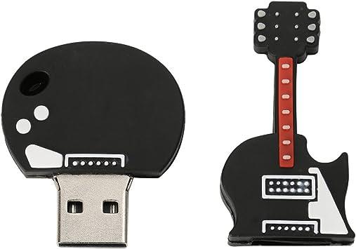 Sharplace Palo de Memoria Pen Drive Forma de Guitarra Eléctrica ...